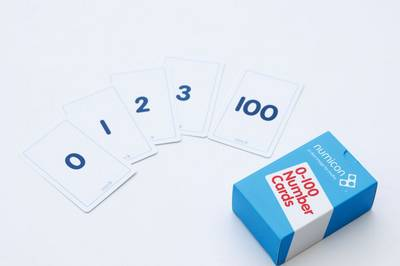 Numicon: 0-100 Numeral Cards by