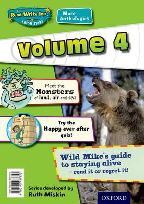 Read Write Inc. Fresh Start: More Anthologies Volume 4 Pack of 5 by Gill Munton, Janey Pursglove, Adrian Bradbury