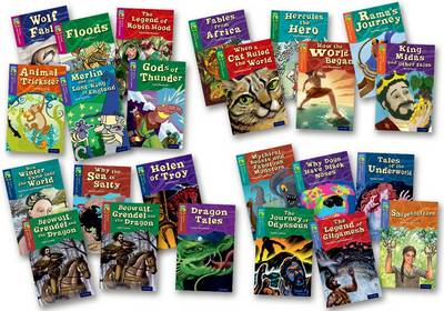 Oxford Reading Tree Treetops Myths and Legends: Levels 10-17: Super Easy Buy Pack by