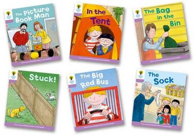 Biff, Chip and Kipper Stories Decode and Develop More A Level 1+ Pack of 6 by Roderick Hunt, Paul Shipton