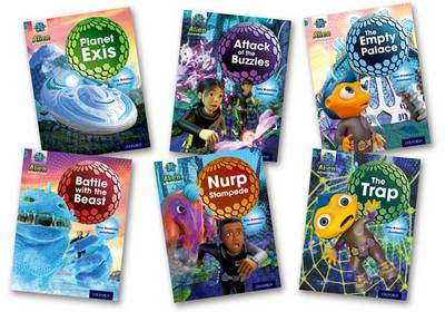 Project X: Alien Adventures: Turquoise: Mixed Pack x 6 by Tony Bradman, Mike Brownlow