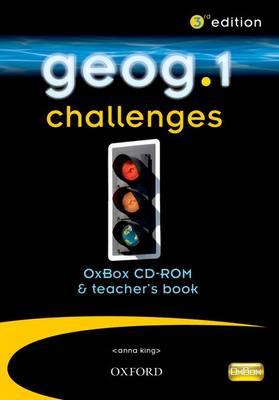 Geog.1 Challenges OxBox CD-ROM & Teacher's Book by RoseMarie Gallagher, Justin Woolliscroft, John Edwards