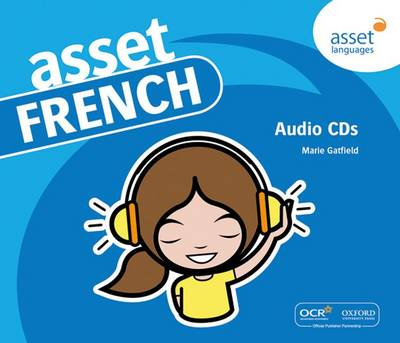 Asset French: Audio CDs by Marie Gatfield