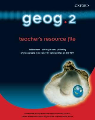 Geog.123: Geog.2: Teacher's Resource File & CD-ROM by RoseMarie Gallagher