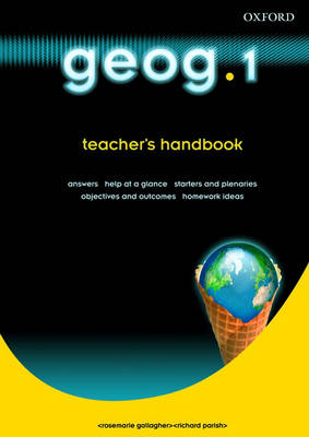 Geog.123: Geog.1: Teacher's Handbook by RoseMarie Gallagher, Richard Parish, Janet Williamson