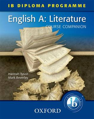 English A Literature by Hannah Tyson, Mark Beverley