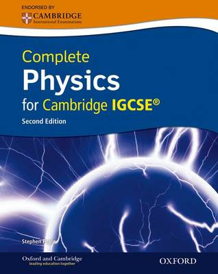 Complete Physics for Cambridge IGCSE with CD-ROM by Stephen Pople