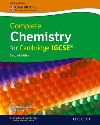 Complete Chemistry for Cambridge IGCSE with CD-ROM by Ingram, A. Gallagher