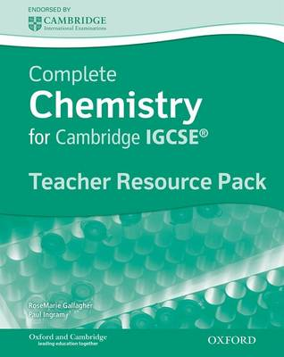 Complete Chemistry for Cambridge IGCSE: Teacher's Resource Pack by A. Gallagher