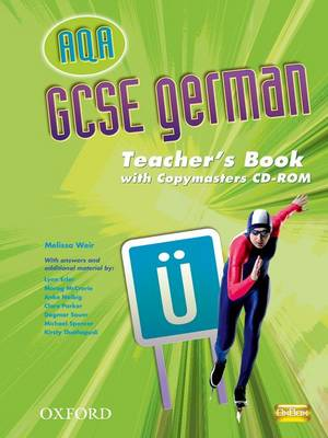 AQA GCSE German Teacher's Book and Copymasters CD-ROM by Melissa Weir