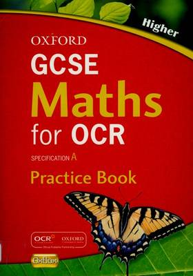 Oxford GCSE Maths for OCR: Higher Practice Book by David Rayner