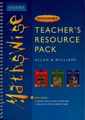 Mathswise: Teacher's Resource Pack by Ray Allan, Martin T. Williams