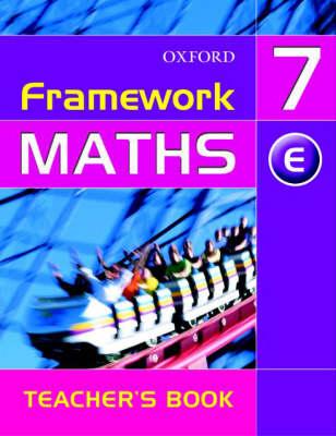 Framework Maths: Year 7 Extension Teacher's Book by David Capewell