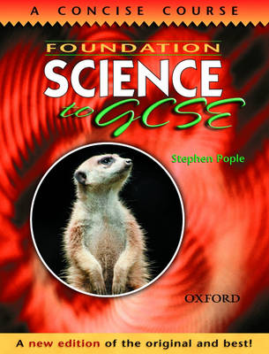 Foundation Science to GCSE by Stephen Pople