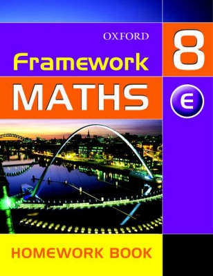 Framework Maths: Y8: Year 8 Extension Homework Book by David Capewell