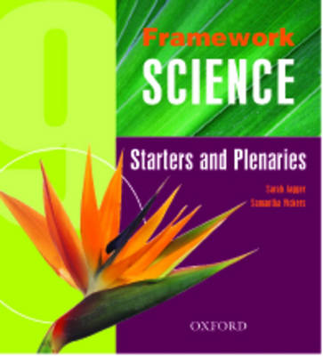 Framework Science Starters and Plenaries Pack by Sarah Jagger