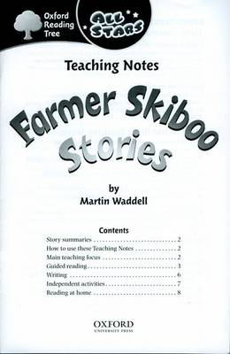 Oxford Reading Tree: All Stars: Pack 1: Teaching Notes by