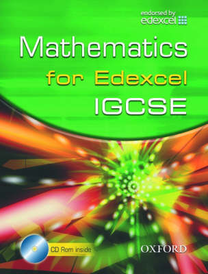 Edexcel Maths for IGCSE (with CD) by Derek Huby, Jayne Kranat, Marguerite Appleton, Demetris Demetriou