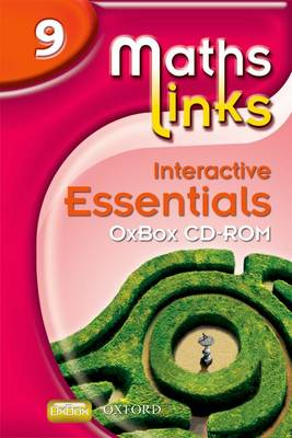 Mathslinks: 3: Y9 Interactive Essentials OxBox Cd-rom by Ray Allan