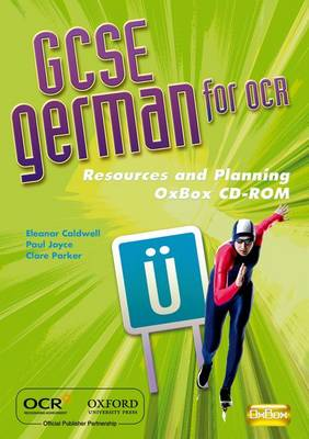 GCSE German for OCR Resources and Planning OxBox by