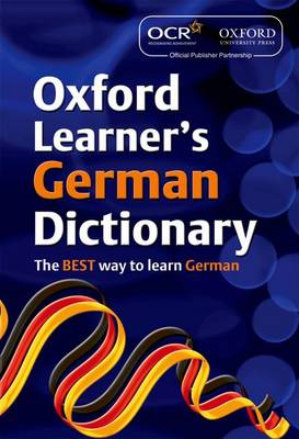 OCR Oxford Learner's German Dictionary by Oxford Dictionaries