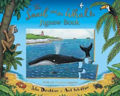 The Snail and the Whale Jigsaw Book by Julia Donaldson