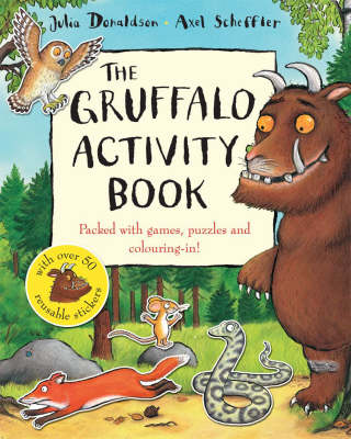 The Gruffalo Activity Book by Julia Donaldson
