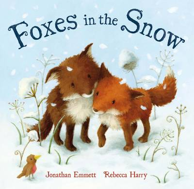 Foxes in the Snow by Jonathan Emmett