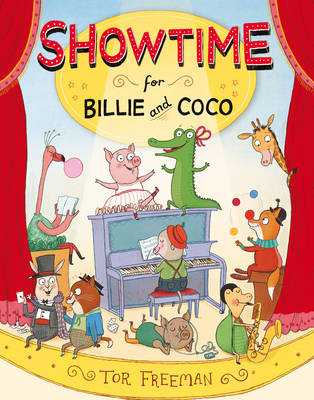 Showtime for Billie and Coco by Tor Freeman