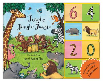 Jingle Jangle Jungle Dominoes! by Axel Scheffler