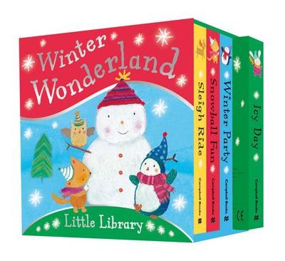 Winter Wonderland Little Library by Dubravka Kolanovic