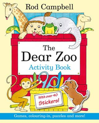 Dear Zoo Activity Book by Rod Campbell