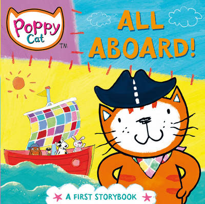 Poppy Cat TV: All Aboard! by Lara Jones