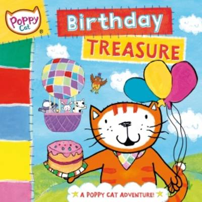 Poppy Cat TV: Birthday Treasure by Lara Jones
