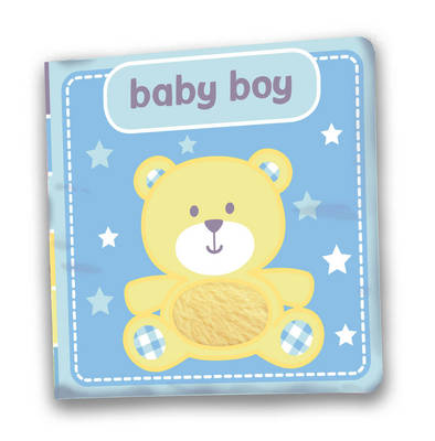 Baby Boy A First Soft Cloth Gift Book by Laila Hills
