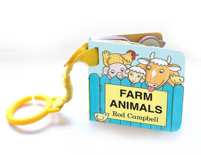 Farm Animals Shaped Buggy Book by Rod Campbell