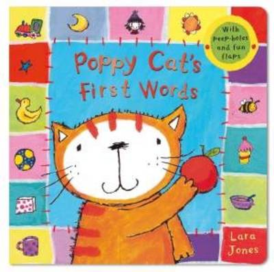 Poppy Cat's First Words by Lara Jones