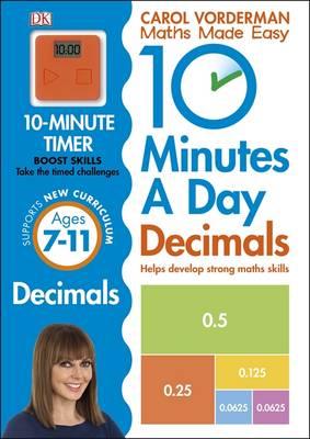 10 Minutes a Day Decimals by Carol Vorderman