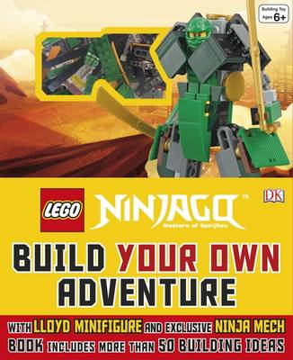 LEGO (R) NINJAGO (R) Build Your Own Adventure by DK
