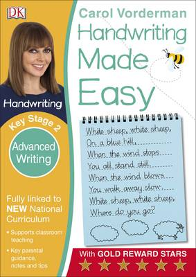 Handwriting Made Easy Advanced Writing by Carol Vorderman