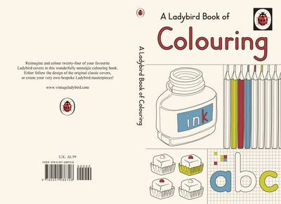 A Ladybird Book Of Colouring, by Ladybird