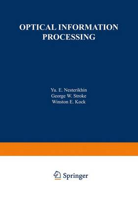 Optical Information Processing by Yu Nesterikhin