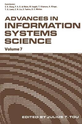 Advances in Information Systems Science by Julius T. Tou