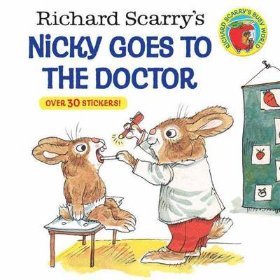 Nicky Goes to the Doctor by Richard Scarry