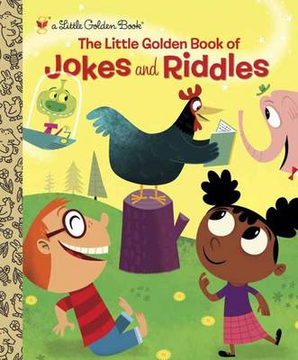 The Little Golden Book of Jokes and Riddles by Peggy Brown, David Sheldon