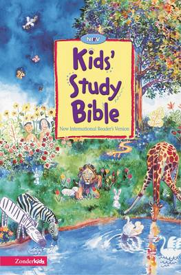 NIrV Kids' Study Bible Ages 8-12 by Joel Tanis