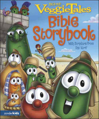 VeggieTales Bible Storybook With Scripture from the NIrV by Cindy Kenney