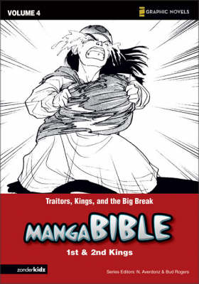 Manga Bible Traitors, Kings, and the Big Break - First Kings-second Kings by Young Shin Lee, Jung Sun Hwang