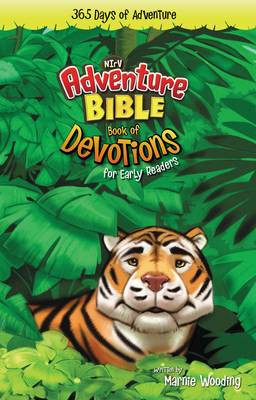 NIrV Adventure Bible for Early Readers: Book of Devotions 365 Days of Adventure of 6-10 Year Olds by Marnie Wooding