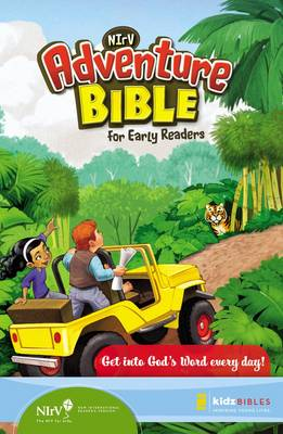 NIrV Adventure Bible for Early Readers 6-10 Year Olds by Zonderkidz